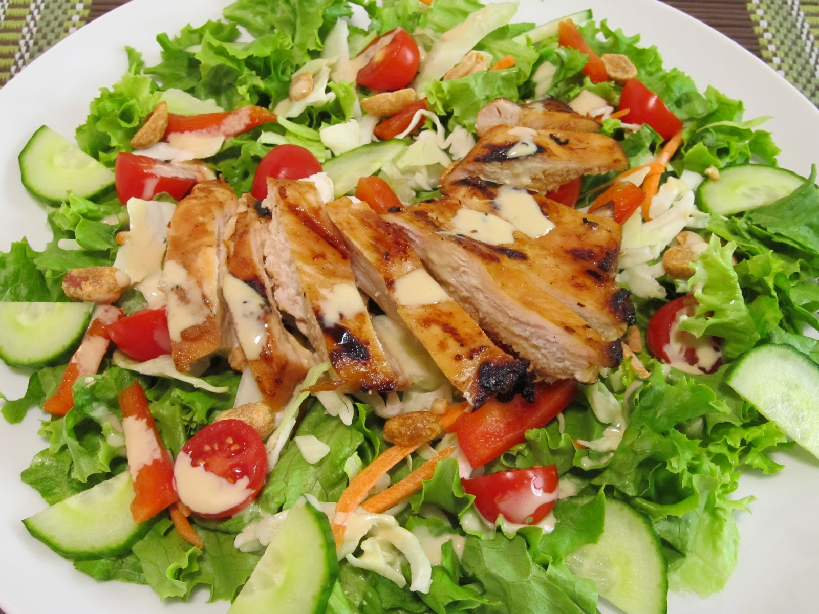 Bevaris Alliance » Teriyaki Chicken Salad